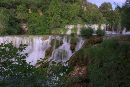 Krka waterall 2 by McCrim
