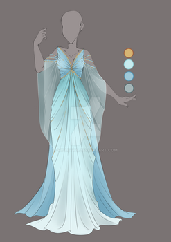 :: Commission August 03: Outfit Design :: by VioletKy