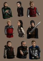 A dance of swords: Characters by Kimmie1997