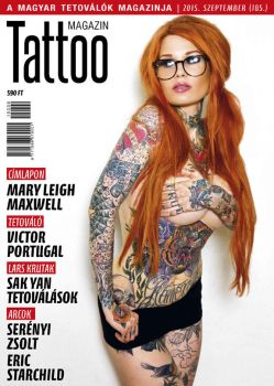 Hungarian Tattoo Magazine 185 - Sept 2015 by hortipeter