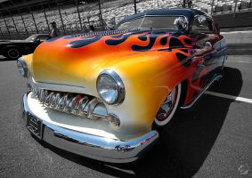 Flames Hot Rod by E-Davila-Photography