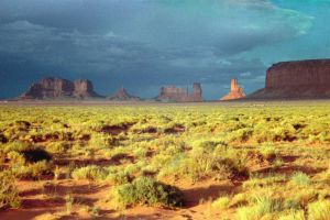 Monument Valley Sunset by Greenlight
