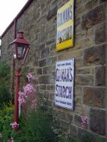 goathland  station Nymr ,aidensfield,signs by Sceptre63