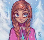 Anna by DaveJorel