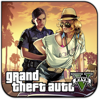 Grand Theft Auto V by sony33d