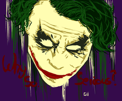 The Joker by Garcho