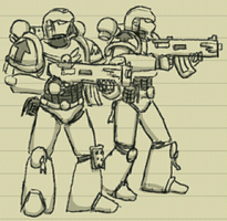 in-class sketchies: the emperor's finest by livinlovindude