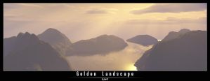 Golden Landscape by Vpr87