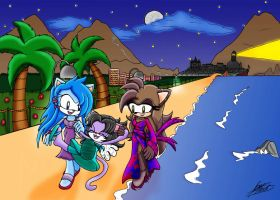 Walk on a peaceful place by RougeBatGirl86