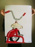 Red Tricycle by ryangirlie