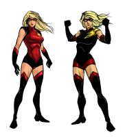 Ms Marvel Redesigns by BrianAtkins