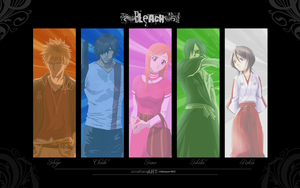 Bleach Wallpaper by King-manga-man