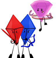 My 3 Gem Babies by First-Mate-Klovers