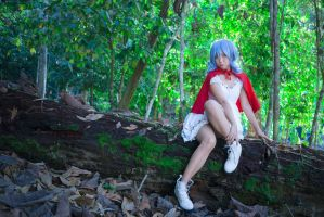 Remilia Scarlet - Little Red Riding Hood by bdrc