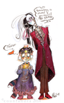 Posh Vampire and Cute Human by CountANDRA