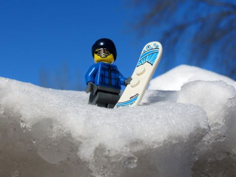 A Little Snowboarder! by GrindhouseCinema