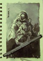 Space_suit__ink by crazypalette