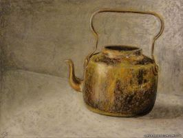 Old Teapot by Chris-Blue