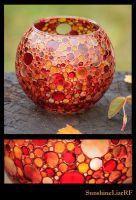 autumn color vase by SunshineLiarRF
