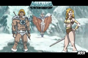 Teela's trainning by MikeBock