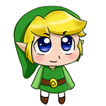 Toon link chibi by Nickyparsonavenger