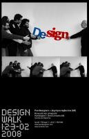 Design Walk 08, invitation by PoorDesigners