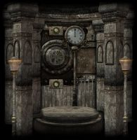 SteamPunk Background 2 by mysticmorning