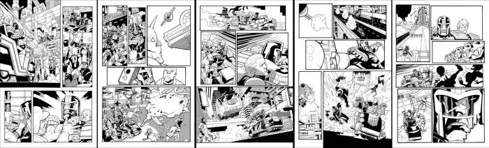 Judge Dredd Sample Pages by butchmapa