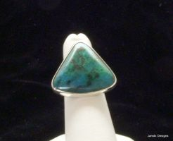 The Ocean Blue ring by Janski-Designs