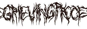 The Grieving Process band logo by NickMockoviak