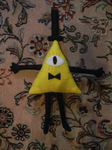 Bill Cipher plush by HayleySkellington
