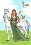 Epona, a Celtic Horse-Goddess by GorgeousPixie