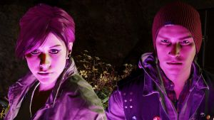 Delsin and Fetch by paul743
