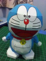 Doraemon papercraft by devils666