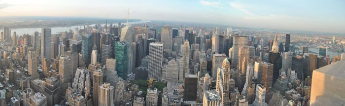 City View day, New York by lokister