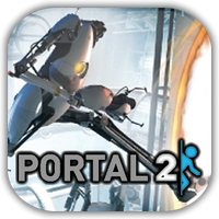 Portal 2 Game Icon by Wolfangraul