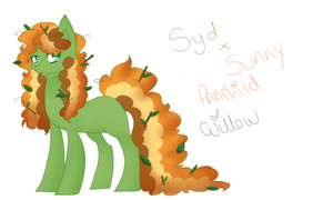Syd x Sunny Fankid: Willow Wisp by CitrusSkittles