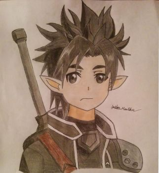 Kirito (Old ALO Avatar) from Sword Art Online by yahoo201027