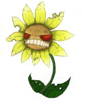 Evil Flower by LaughingSkeleton