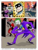 Batman Vs. Catwoman pg6. by scootah91