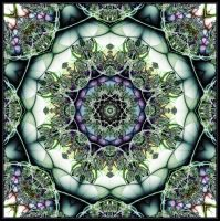 Mandala Green by mdichow