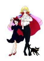 Howl's moving castle and Kiki's delivery service by Hysteria-Ari