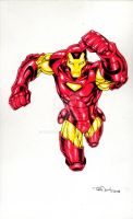 Iron Man 2008 color by ToddNauck