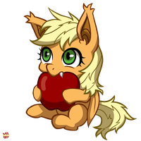 Tiny Applebat by norang94