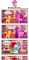 Reading Rainbow by AnimatorAR
