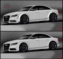 Audi A4 tuning by ispydesign