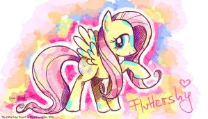 Fluttershy is best Pony by MissNeens