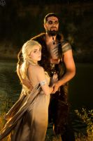 Drogo and Dany by La-Clover