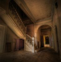 The Silent Staircase by wreck-photography