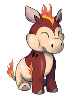 Fire Starter - Boomhippo by DarkCharmander